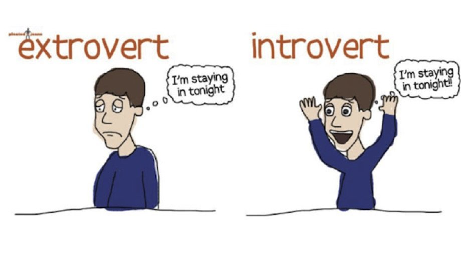 Dating an introverted extrovert